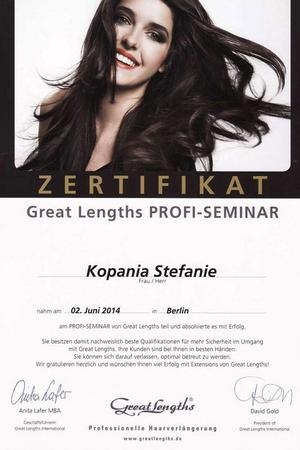 Great Lengths - PROFI-SEMINAR
